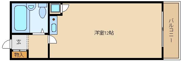 恵我之荘駅 ☆単身オートロック☆  アモルフ