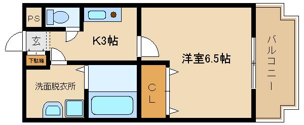 シャンプードレッサーも付いて、洋室広々(^−^) 日当たりも良好です!!!!  メゾン・ムカイ