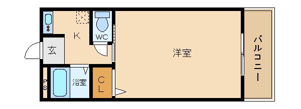 道明寺駅近物件!! ガスキッチン設置可能のセパレートです!!  マンハイムスギモト