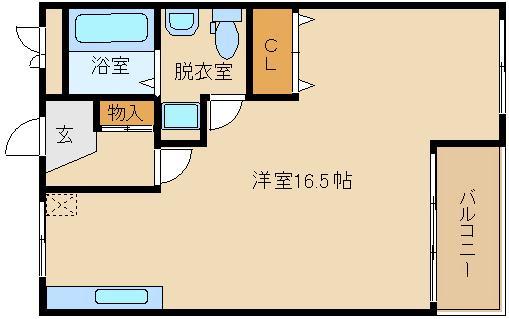 室内フル改装でピッカピカ♪♪特大1R♪♪ 駅近はやっぱり良いですね!!  カサデラJ