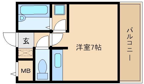 松原市 セパレートタイプのお部屋です!!   シャトラン