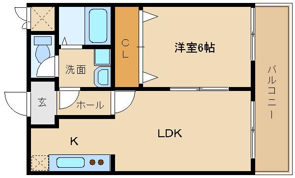 高鷲駅近物件!オススメの1LDK!! ☆★稀少の1LDKです★☆   石田ハイツ2号館