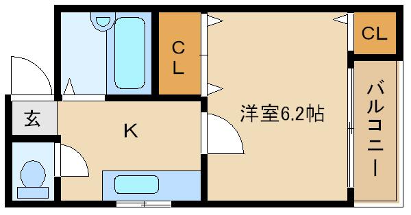 セパレート ☆★オートロック付きで安心です★☆   天美TKDハウス�U