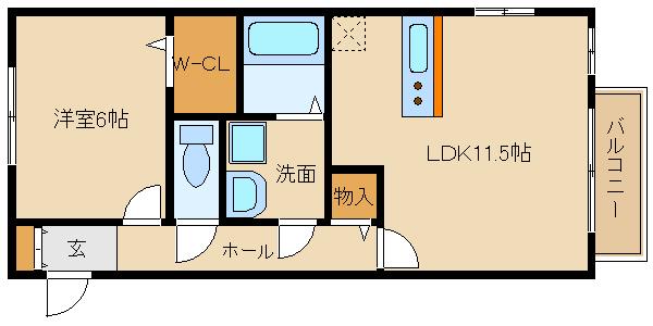 設備充実の築浅1LDK!! ☆★新婚さんにもオススメ★☆  ドリーム葉月 七番館