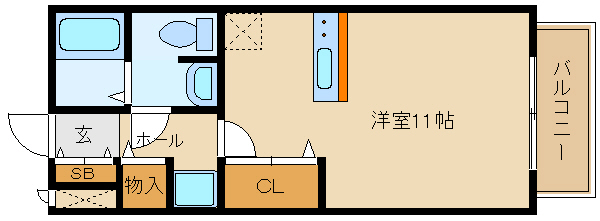 単身の築浅アパート!! システムキッチンで料理もラクラク☆  ドリーム葉月 六番館