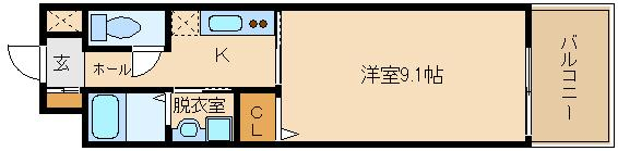 オートロック付き、RC造マンション!! 設備充実で、洋室広々(^0^)  ドマーニ