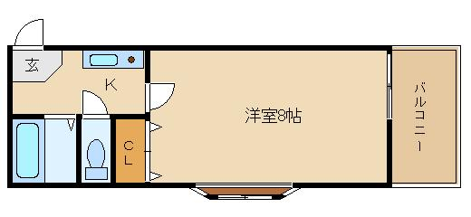 駅近のセパレート物件がこのお家賃!! 水道代は定額2.160円/です!!  サンユウコート