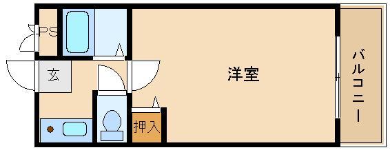 敷金・礼金0円物件です!! オートロック付きのセパレート!!  アルーム西浦