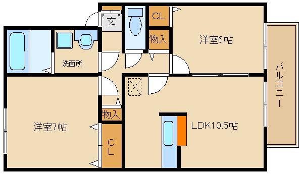 区画整理されたキレイな住宅街です!! カウンターキッチン付きのリビングですよ♪♪  グリュック・S A棟