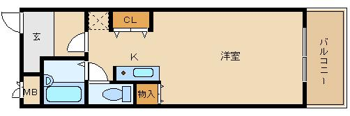 ペットOKの単身マンション!! 藤井寺駅徒歩圏内!!  ラッズ