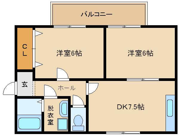 高鷲駅から徒歩3分!!駅近の格安ファミリー物件です!! オール洋室のキレイなお部屋です(^0^)  ラピスハイツ