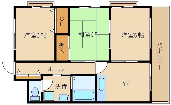 埴生小・羽曳野中校区です☆ 扉を外すと、2LDKとしてもつかえます!?  レジデンス南ヶ丘