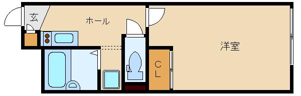 2009年築のセパレート1K物件♪ 初期費用下がってます☆  レオパレスヴァンベール�V