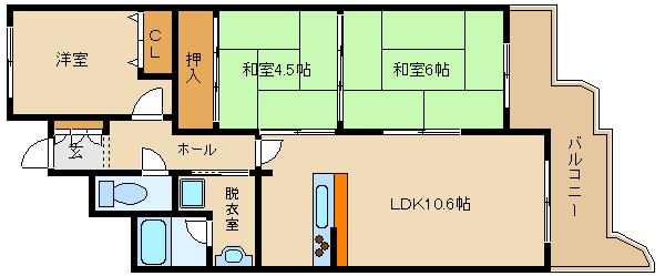 分譲賃貸ですよ♪♪オートロック完備☆ 3口のシステムキッチン!!  ヴェルドール藤井寺