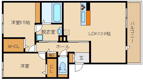 ★築浅★ホームセキュリティー搭載の、オール電化物件!! オートロック付で、設備も充実してますよ♪♪  クレール