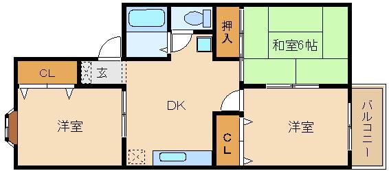 閑静な場所の3DKタイプのお部屋です♪ 駐車場代が格安です(^0^)  アメニティハイツ
