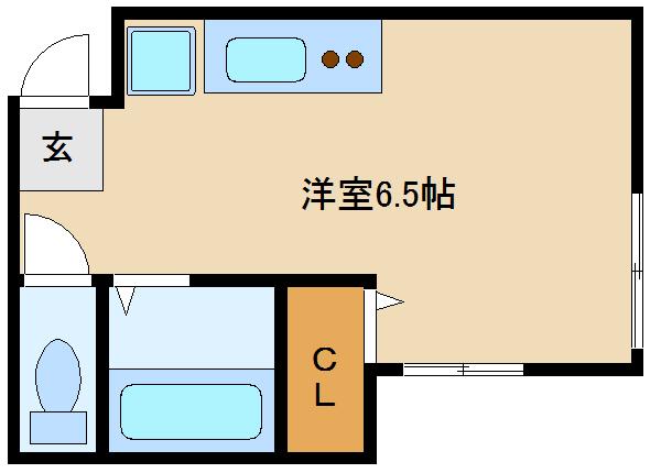 駅近のワンルームマンションです!! 単身で人気のセパレート物件☆☆  アルバハイツ