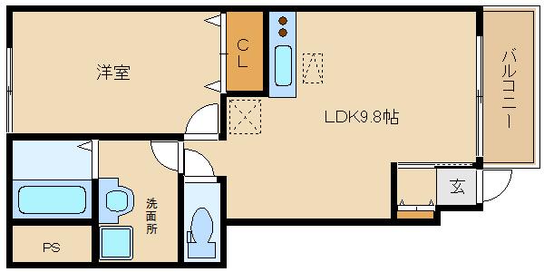 設備充実した築浅物件に空き予定です!! 閑静な住宅街で静かな立地です☆  フィオレ
