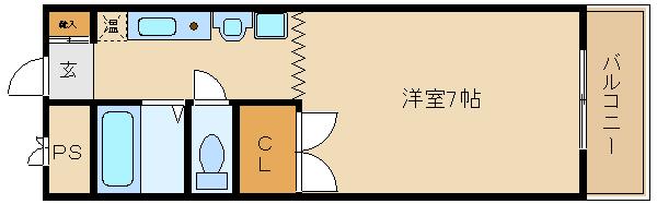 敷金礼金0円のセパレート!!洋室も広いですよ♪ 駅・スーパー近くて、生活便利です(^0^)  ウインライフ藤井寺