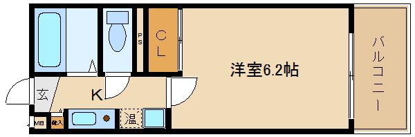 古市駅近のレディースマンションです♪♪ 最上階には、家主様が住んでて安心ですね!!  丸英ビル
