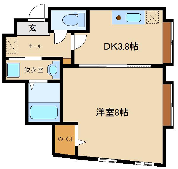 2階フロア全室フルリノベーション!! 室内は新築同様のお部屋です♪♪  オーシャン古市駅前(1)