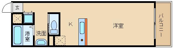 阪南大生の方にもオススメの物件です!! 室内デザイナーズ風のオシャレな空間です☆  ウッディークラフト天美