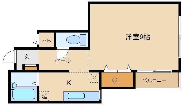 ★駅近★ 水道代込みで、4万円ですよッ♪♪ 全室、角部屋設計  アンバー