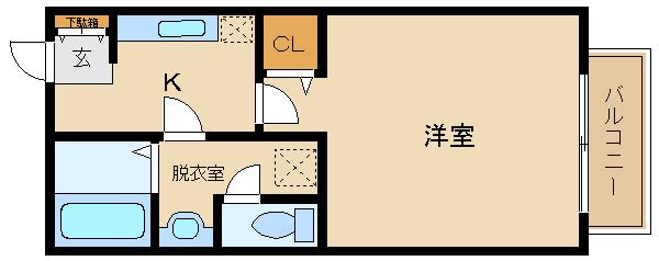 ☆敷金・礼金ゼロ☆脱衣室のある人気物件♪ 買い物便利・シャンプードレッサー付き☆  ピュアハイム