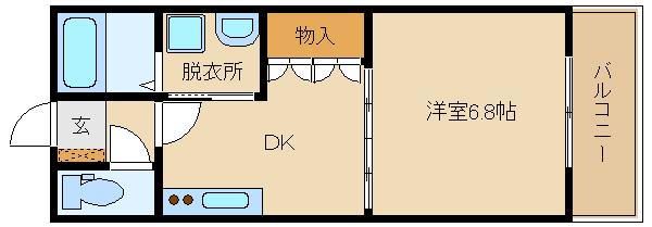 喜志駅人気の、オートロック付マンションです(^0^) このエリアでは、数少ない1DKのお部屋です!!  エム・エム・ケー
