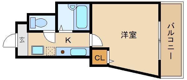 オートロック、エレベーター付きの駅近物件!! レディースマンション  ソレアード山川