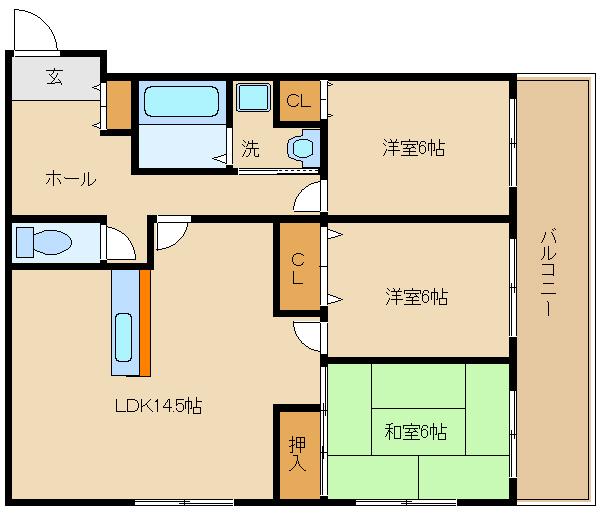 隣とお部屋と設置面なし!買い物便利な環境です。 生活しやすい立地で人気☆  エスパシオ�T
