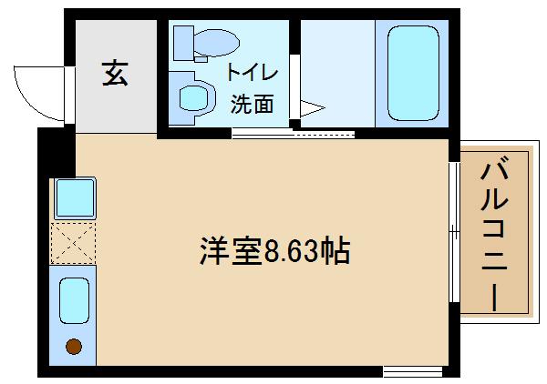 新築物件。駅近物件♪エアコン照明器具付。 独立洗面台付き♪  Station Side 高鷲