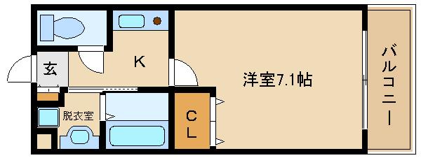 脱衣室付きの単身物件!!  日当り良好です(^0^)  シエロ・ベージョ