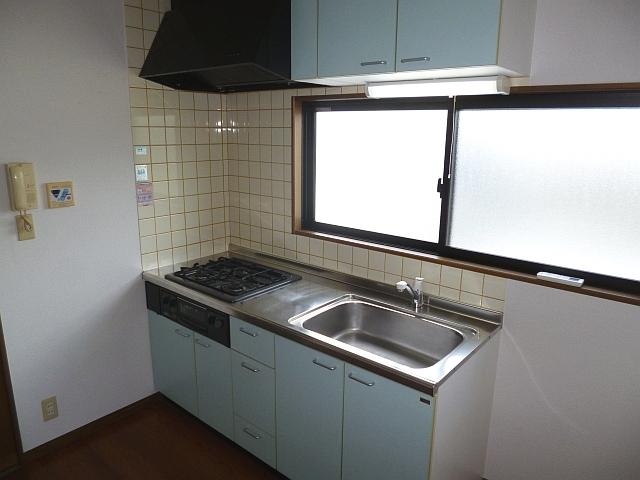 システムキッチン搭載♪お料理好きには最高ですね! 00866 Vulcan城山