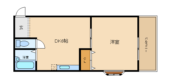 オートロック付き 土師ノ里駅近く  コア千代鶴