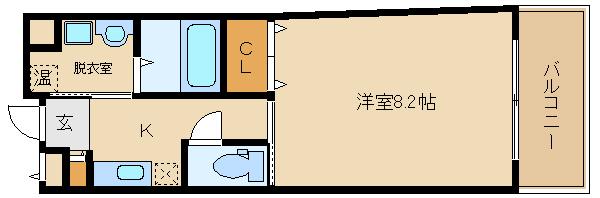 オートロック付で脱衣室付き♪ 独立洗面台もついてますよ(^0^)  ドミール古市