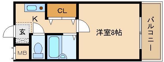 ペット相談可  駅近のセパレート単身物件!!  ヒサティー松原